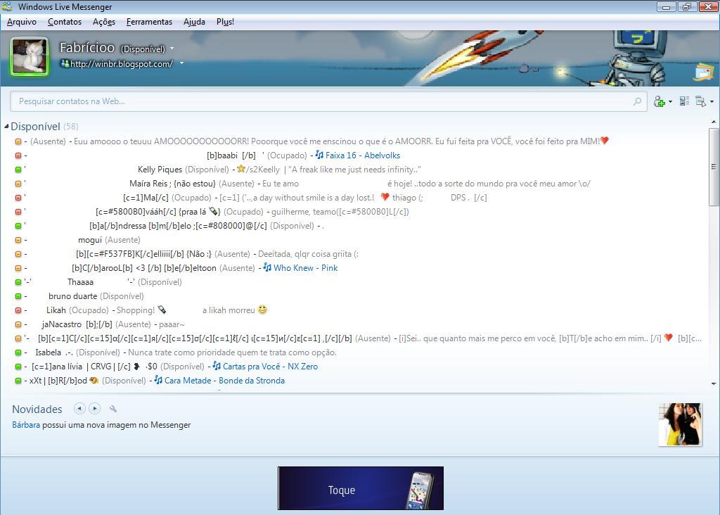 MSN 2009